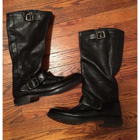 d3b1932f65fb Frye Shoes - Women s Black Frye Veronica Slouch Boot.
